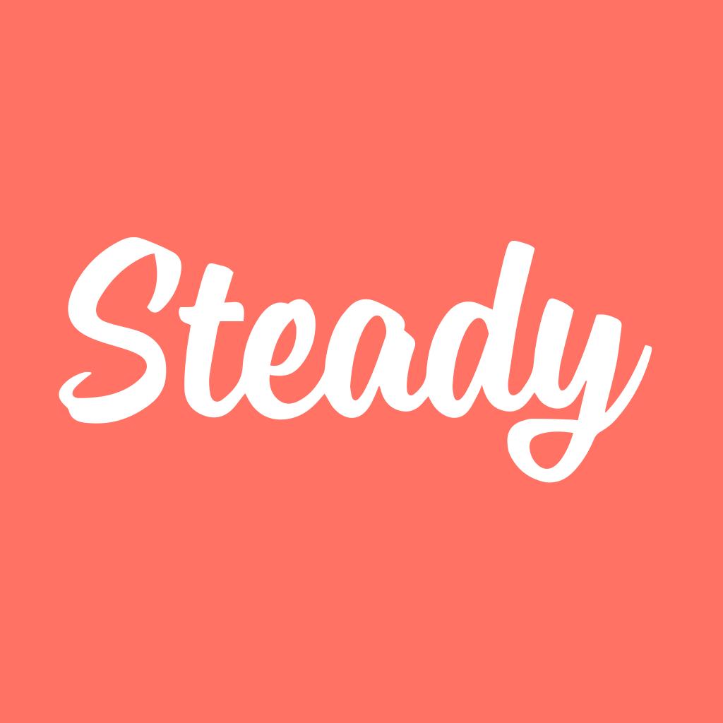 Follow Us on steady